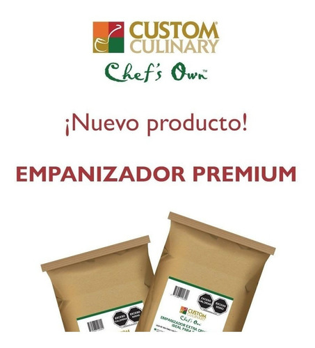 Empanizador Para Alitas Y Piezas De Pollo Custom Culinary