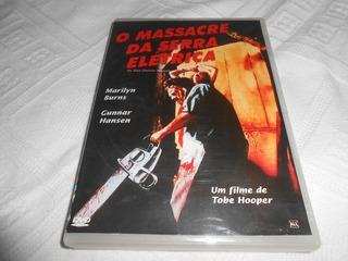 Filme Dvd O Massacre Da Serra Elétrica 1974. Tobe Hoper.
