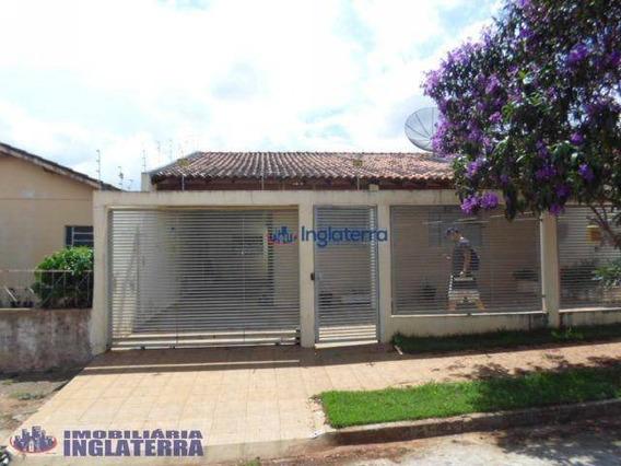 Casa À Venda, 110 M² Por R$ 220.000,00 - Conjunto Cafezal 2 - Londrina/pr - Ca0306