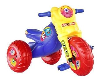 Triciclo Para Niños Y Niñas Ruedas Monster