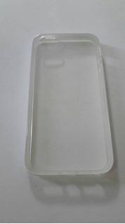 Capa Case iPhone 5 Transparente Proteção Celular + Pelicula