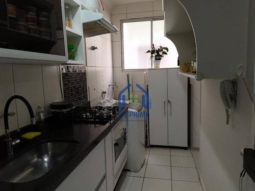 Apartamento Com 2 Dormitórios À Venda, 50 M² Por R$ 200.000 - Vila Maceno - São José Do Rio Preto/sp - Ap1247