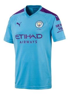 Camisa Manchester City Inglaterra 2020 Nova Pronta Entrega