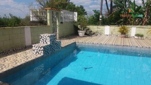 Chácara Em Araçoiaba  Com 4 Dormitórios À Venda, 1000 M² Por R$ 440.000 - San Conrado - Araçoiaba Da Serra/sp - Ch0240