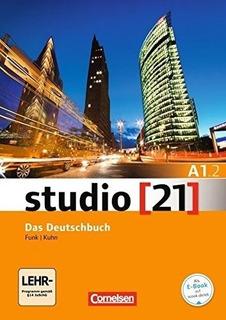 Studio 21 A1/2 - Kursbuch + Arbeitsbuch + Dvd-rom (e-book -a