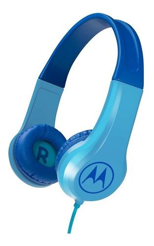 Auriculares Motorola Squads 200 Bl Niños C/ Cable + Mic
