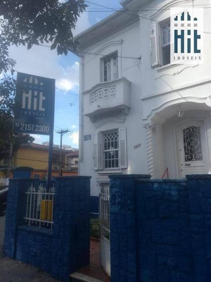 Terreno À Venda, 355 M² Por R$ 1.070.000 - Cambuci - São Paulo/sp - Te0046