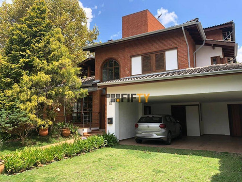 Casa Com 4 Dormitórios À Venda, 418 M² Por R$ 2.310.000,00 - Morada Dos Pinheiros (aldeia Da Serra) - Santana De Parnaíba/sp - Ca1480