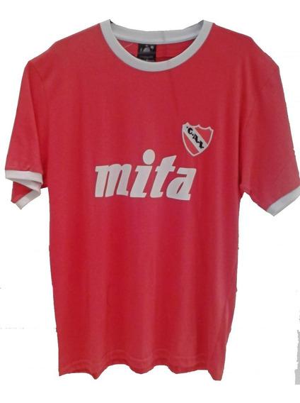 Remera Camiseta Retro Independiente Envios A Todo El Pais