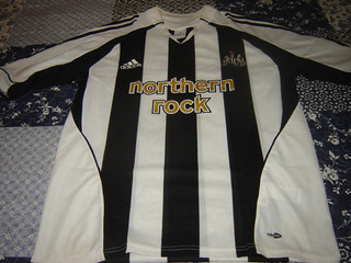 Newcastle United Talla Mediana Calif. 8 Temporada 2005-2007