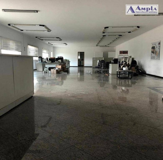 Galpão Para Alugar, 350 M² Por R$ 8.500,00/mês - Vila Carrão - São Paulo/sp - Ga0027