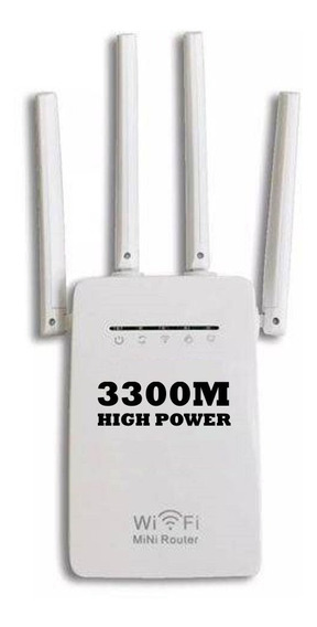 Repetidor 3300m Antena Expansor Wifi Wireless Amplificador
