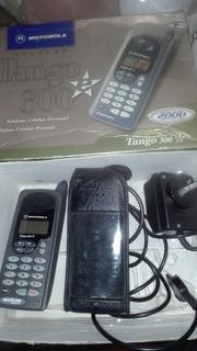 Motorola Tango 300 En Caja Con Cargador Y Funda De Cuero