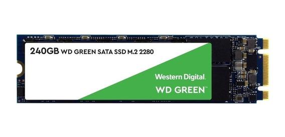 Disco M2 Ssd Solido 240gb Western Digital Green M.2 Sata A18