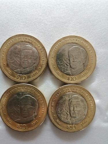 Imagen 1 de 2 de Moneda 10 Pesos
