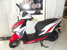 Honda Elite 125 Fi 125 Cc Tricolor Cd Satelite Agencia