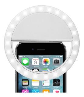 Aro Anillo Selfie Flash Camara Luces Led Portatil Celular