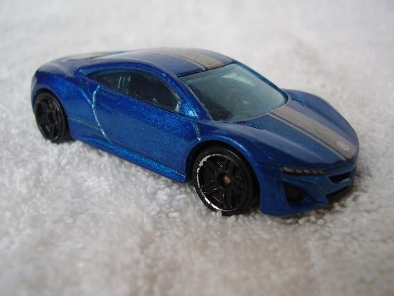 Carrinho Hot Wheels Acura Nsx Concept Azul Escala 1:64