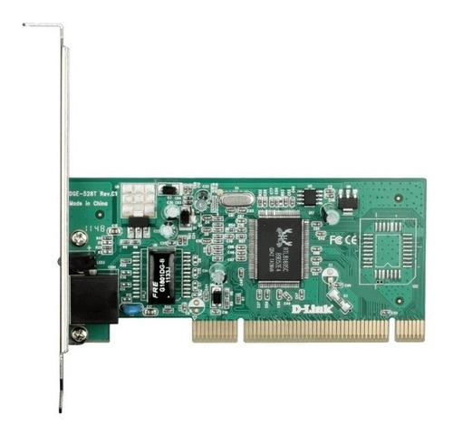 Placa De Rede Pci Gigabit D-link Dge-528t C/ Perfil Baixo