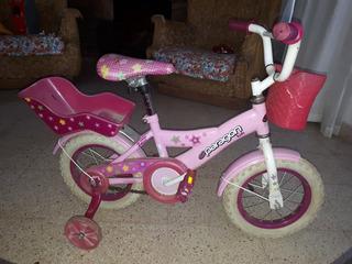 Bicicleta Niña Paragon Kids Usada Rodado 12