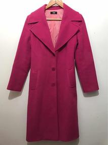 Casaco Sobretudo Pink, Sobretudo De Pura Lã