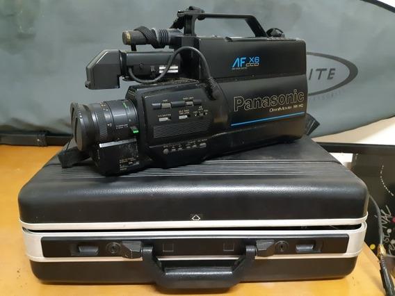 Câmera Antiga Vhs Panasonic Omnimovie Af Xc6