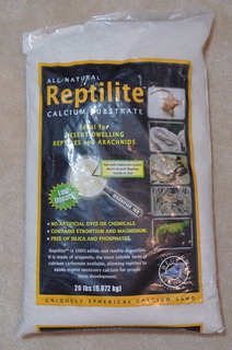 Sustrato Para Reptiles Arena Del Desierto Caribsea 20lb
