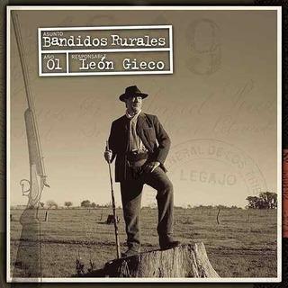 Cd Leon Gieco Bandidos Rurales Nuevo Sellado Open Music U-