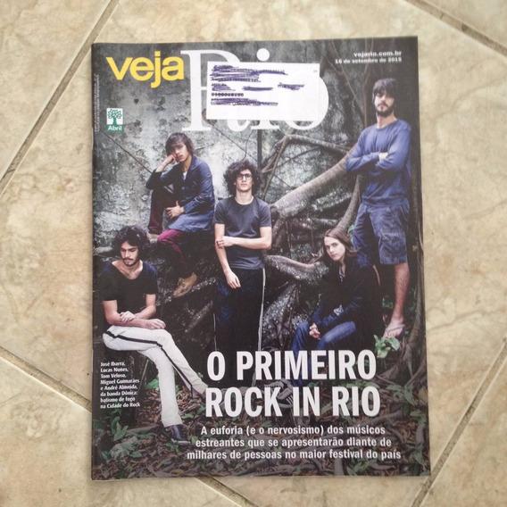 Revista Veja Rio 16/9/2015 Primeiro Rock In Rio Banda Dônica