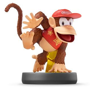 Figura Diddy Kong Amiibo Smash Bros Nintendo - Factura A / B