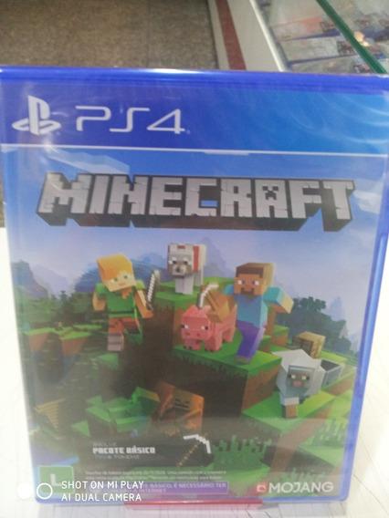 Jogo Minecraft Ed Completa Ps4 Midia Fisica Português Novo