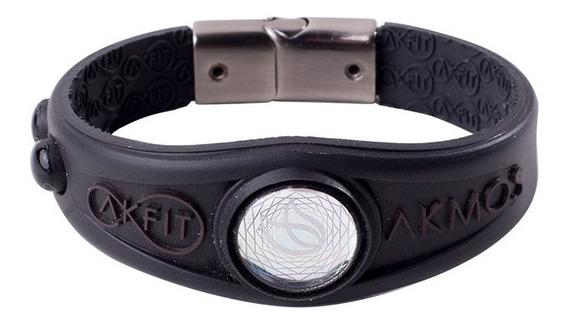 Pulseira Bracelete Akmos Magnetica 100% Original - Preta
