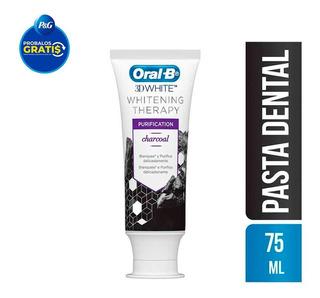 Pasta Dental Carbon Oral B 3d White Whitening Therapy 75 Ml