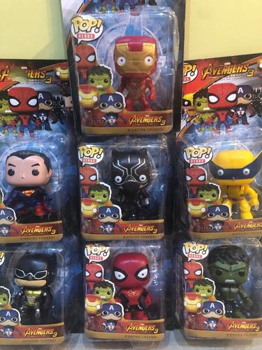 Muñecos Tipo Funko Pop Avengers Spiderman Hulk Superman X1