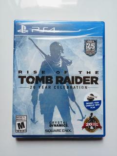 Rise Of The Tomb Raider Juego Ps4 En Español Nuevo Y Sellado