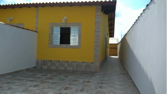 Casa Noca Em Mongaguá Com Churrasqueira