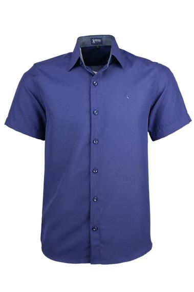 Camisa Dinamo Manga Curta - Marinho - Ref 1614