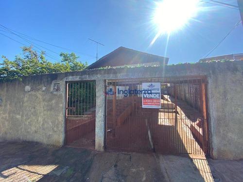 Casa À Venda, 69 M² Por R$ 120.000,00 - Jardim Ok - Londrina/pr - Ca1598