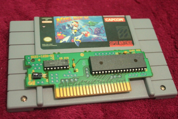 Jogo Megaman X 100% Original Para Super Nintendo Snes