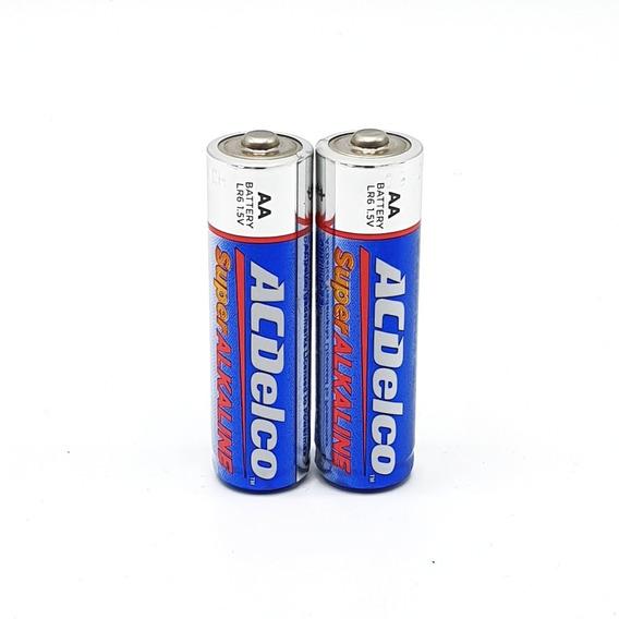 Pila Batería (4) Acdelco Aa 1.5 Volt 2 Pares Sellados