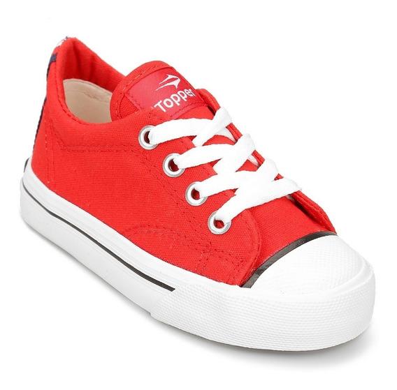 Zapatilla Topper Profesional Kids Rojo 88029