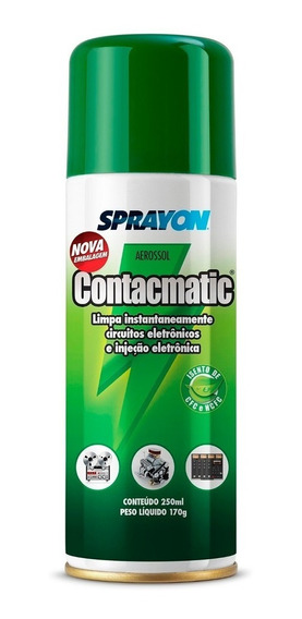 Spray Limpa Contato Contacmatic 250ml