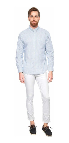 Dockers- Pantalón Marina Blanco Pantalones Para Hombre