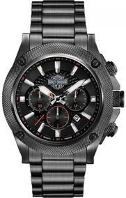 Relógio Bulova Masculino Harley Davidson Cronógrafo Wh30386p