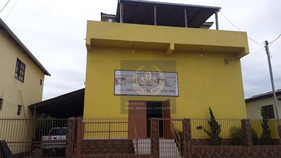 Salão Para Alugar, 260 M² Por R$ 5.500,00/mês - Parque Índio Jari - Viamão/rs - Sl0002