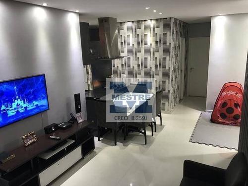 Apartamento Com 3 Dormitórios À Venda, 65 M² Por R$ 493.000,02 - Vila Augusta - Guarulhos/sp - Ap1661