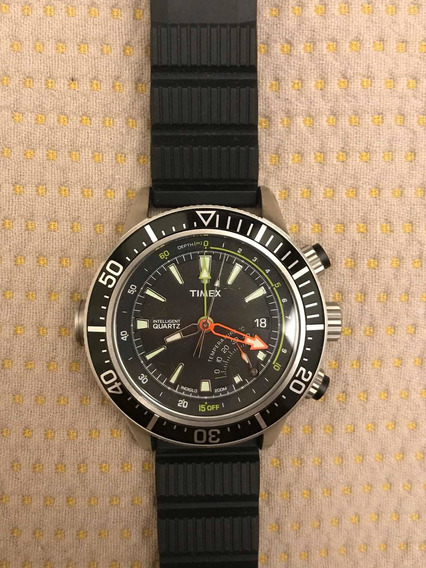 Relógio Timex Intelligent Quartz Diver - T2n810
