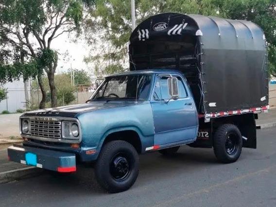 Dodge D 100 Camioneta Estaca