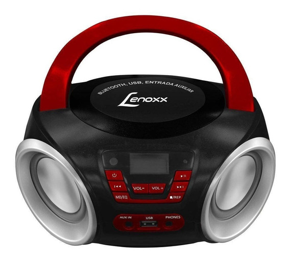 Som Portátil Lenoxx Boombox Mp3 Player Bluetooth Bd110
