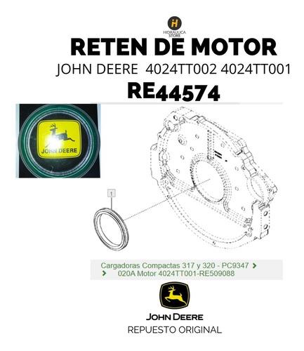 Imagen 1 de 4 de Re44574 Reten Trasero Motor John Deere 4024tt002 4024tt001